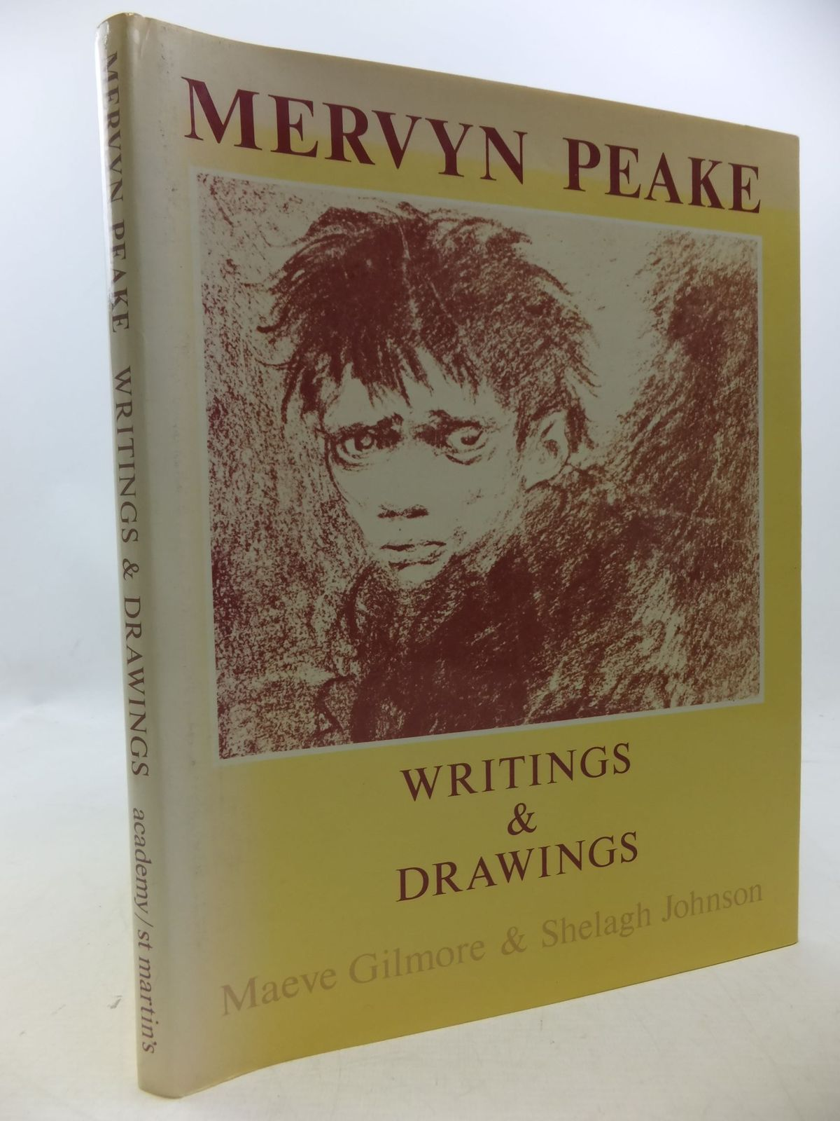 Photo of MERVYN PEAKE WRITINGS AND DRAWINGS written by Gilmore, Maeve<br />Johnson, Shelagh illustrated by Peake, Mervyn published by Academy Editions (STOCK CODE: 1207902)  for sale by Stella & Rose's Books