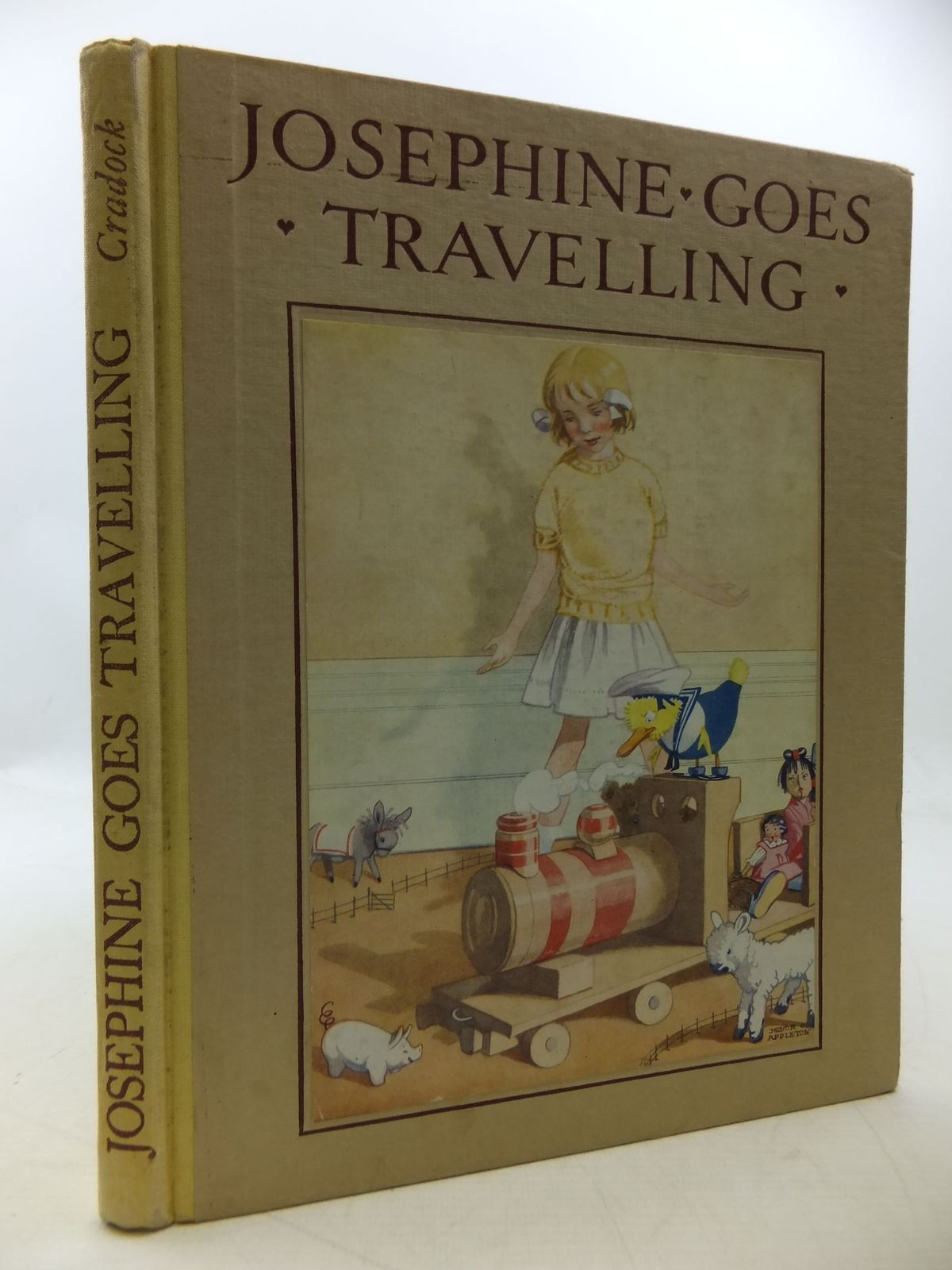 Photo of JOSEPHINE GOES TRAVELLING written by Cradock, Mrs. H.C. illustrated by Appleton, Honor C. published by Blackie & Son Ltd. (STOCK CODE: 1207913)  for sale by Stella & Rose's Books