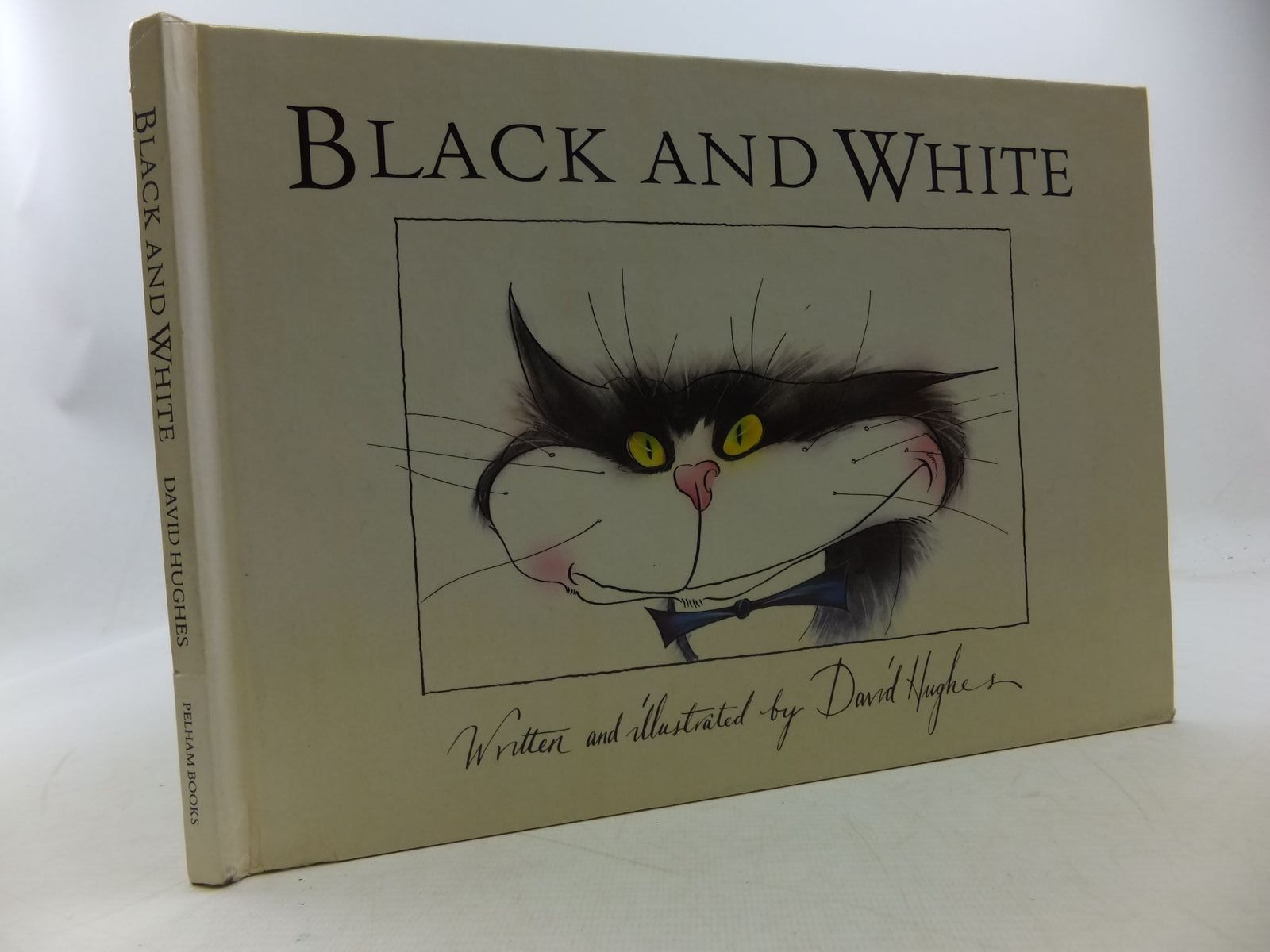 Photo of BLACK AND WHITE written by Hughes, David illustrated by Hughes, David published by Pelham Books (STOCK CODE: 1207918)  for sale by Stella & Rose's Books