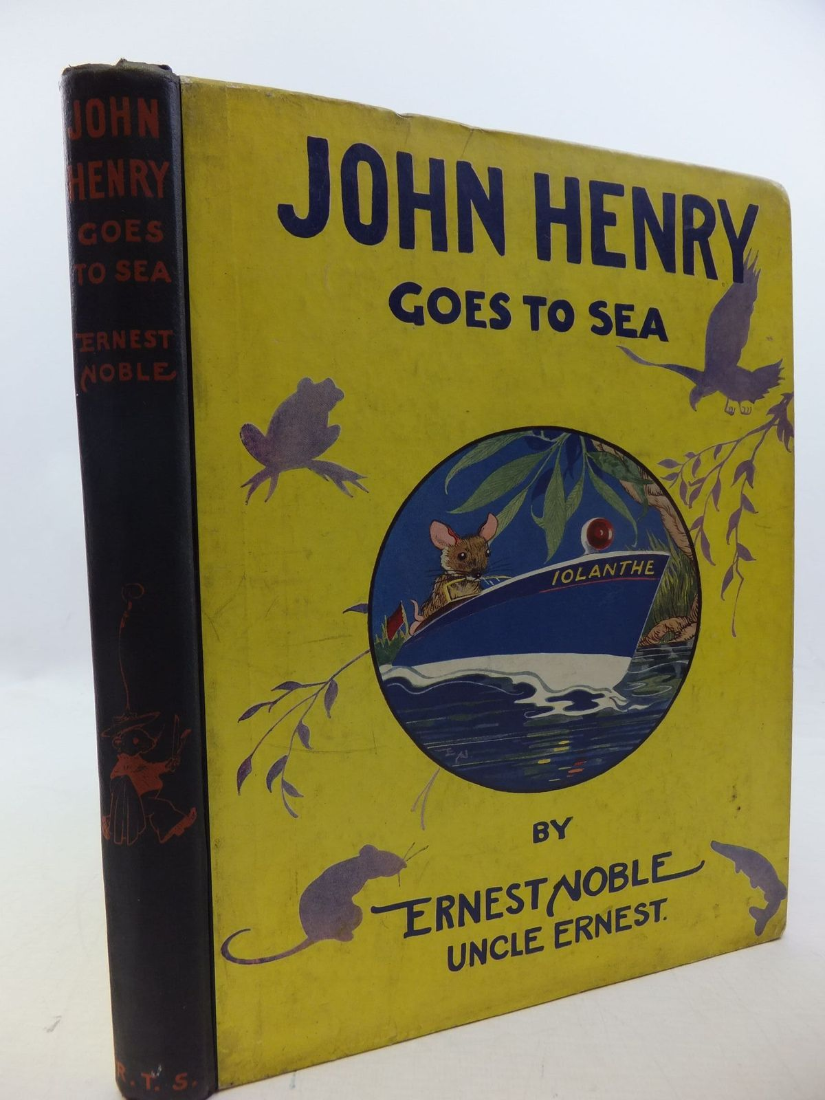 Photo of JOHN HENRY GOES TO SEA written by Noble, Ernest illustrated by Noble, Ernest published by The Religious Tract Society (STOCK CODE: 1207966)  for sale by Stella & Rose's Books