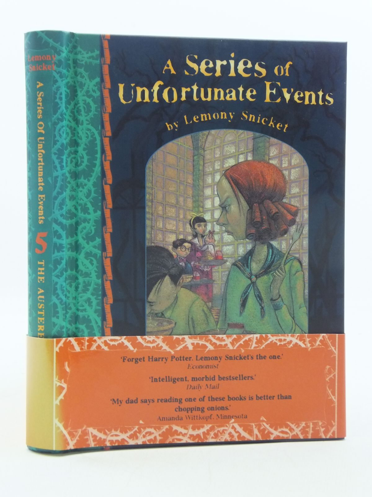 The Austere Academy A Series of Unfortunate Events, Book 5