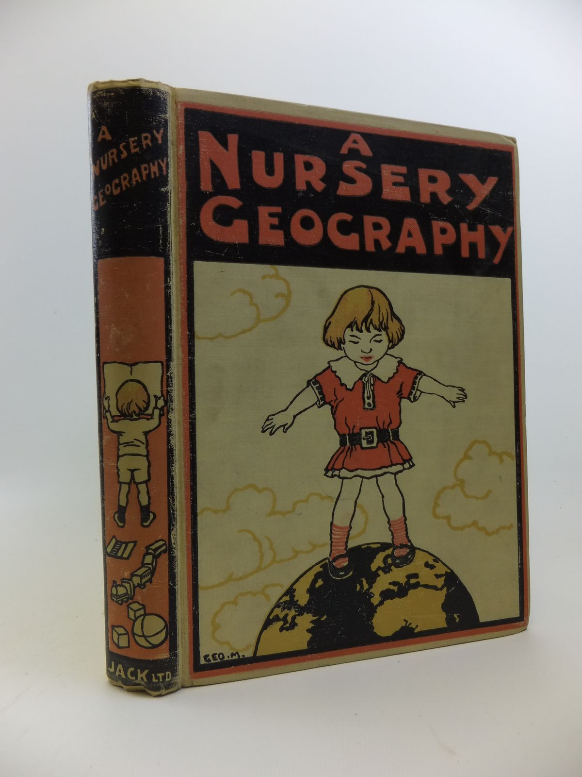 Photo of A NURSERY GEOGRAPHY written by Dickson, George S. illustrated by Morrow, George published by Thomas Nelson and Sons Ltd. (STOCK CODE: 1208230)  for sale by Stella & Rose's Books