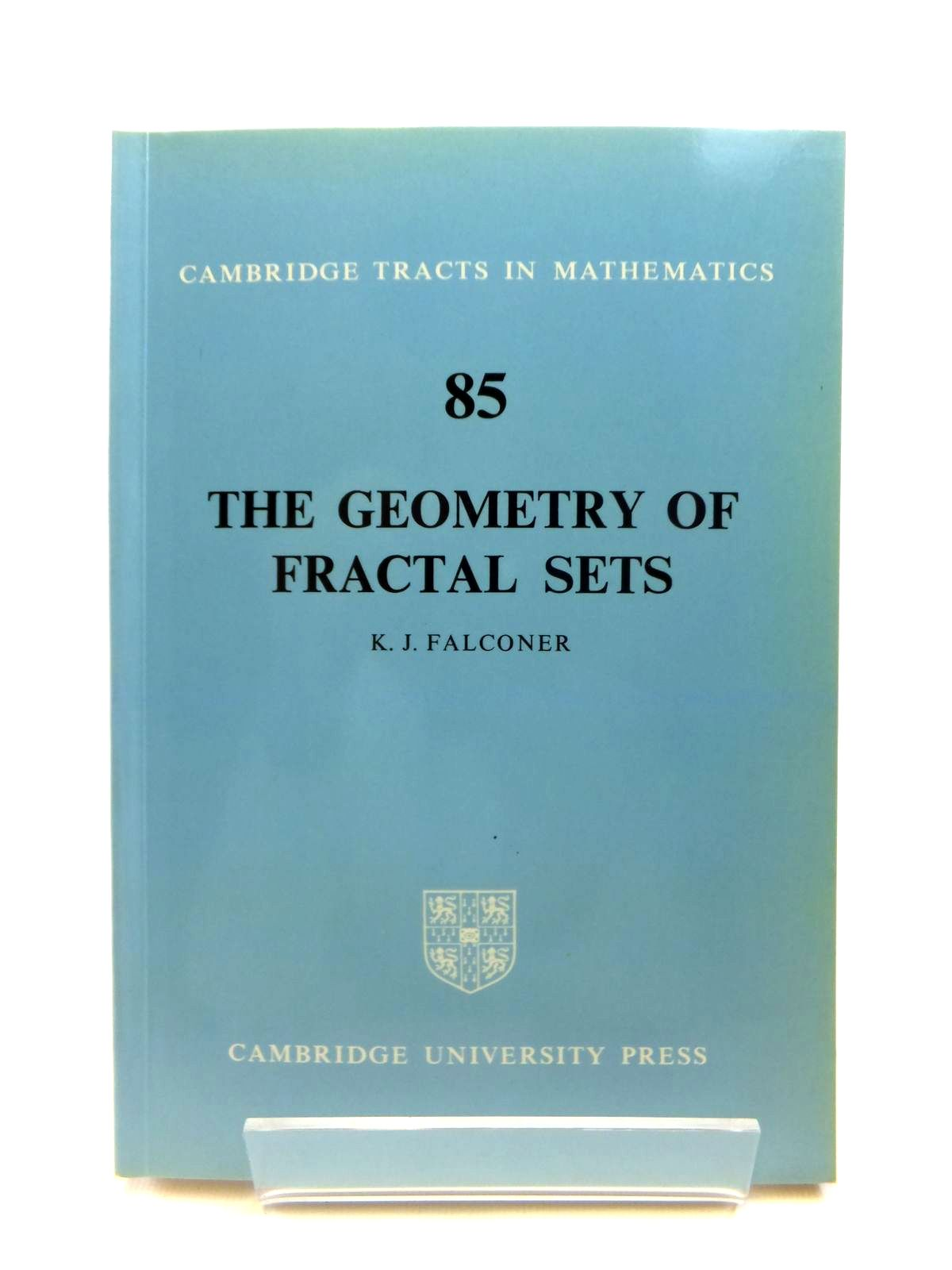 Photo of THE GEOMETRY OF FRACTAL SETS written by Falconer, Kenneth published by Cambridge University Press (STOCK CODE: 1208305)  for sale by Stella & Rose's Books