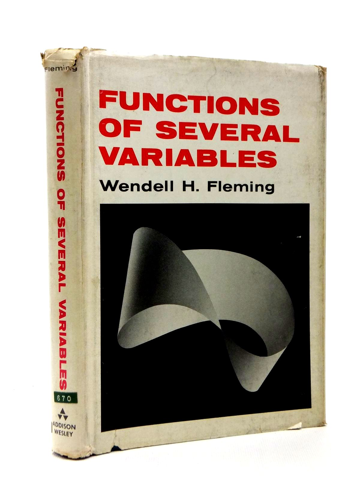 Photo of FUNCTIONS OF SEVERAL VARIABLES written by Fleming, Wendell published by Addison-Wesley Publishing Company Inc. (STOCK CODE: 1208356)  for sale by Stella & Rose's Books