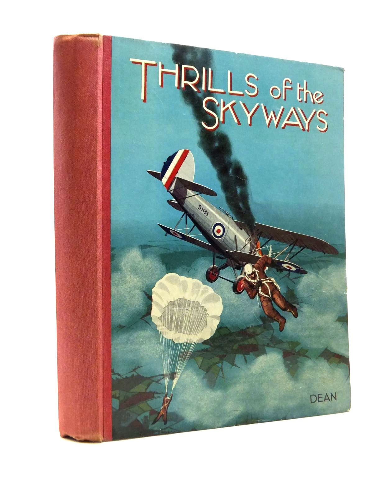Photo of THRILLS OF THE SKYWAYS published by Dean & Son Ltd. (STOCK CODE: 1208366)  for sale by Stella & Rose's Books