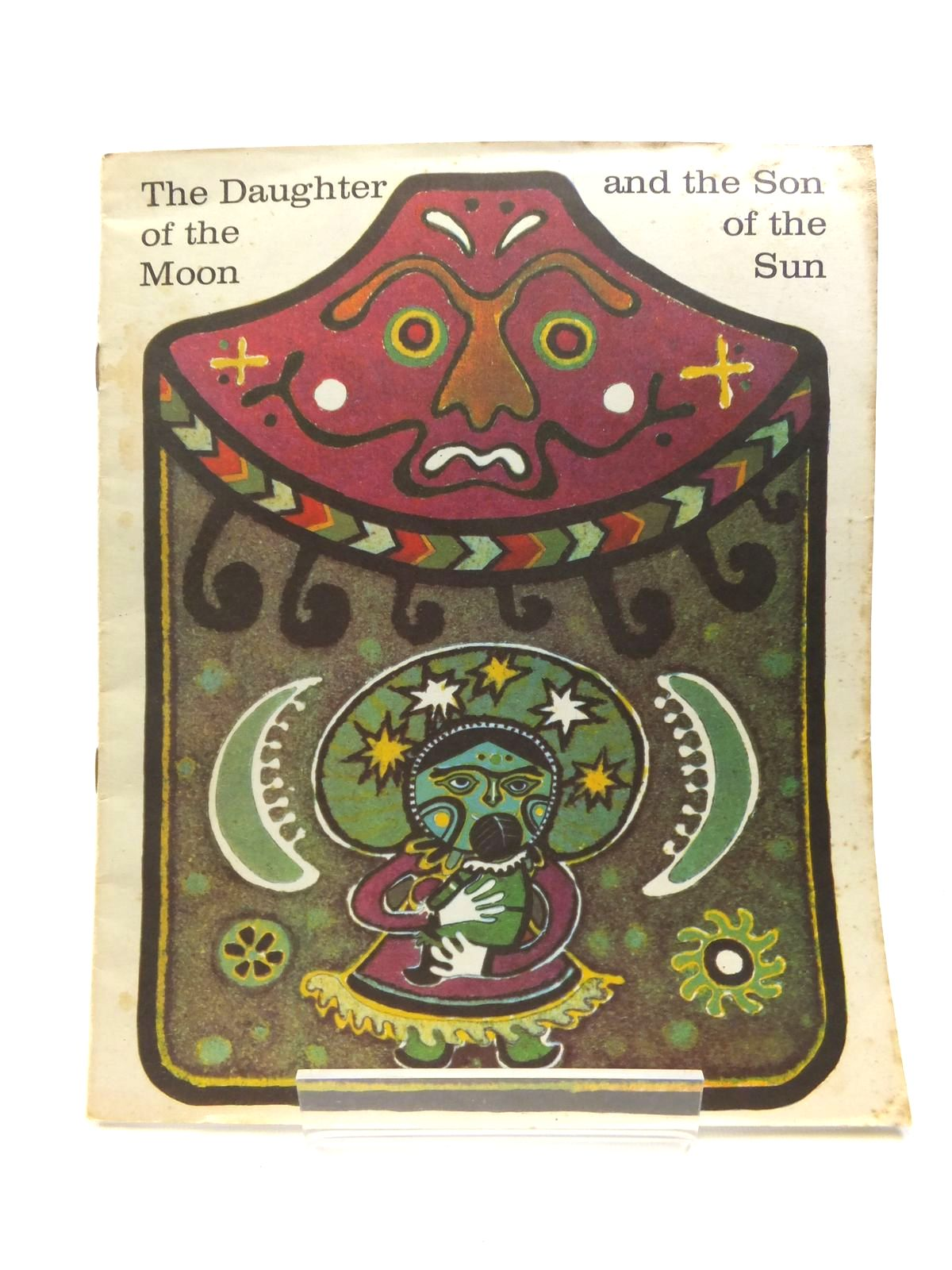 Photo of THE DAUGHTER OF THE MOON AND THE SON OF THE SUN written by Manning, Eve illustrated by Yudin, Georgi published by Progress Publishers (STOCK CODE: 1208381)  for sale by Stella & Rose's Books