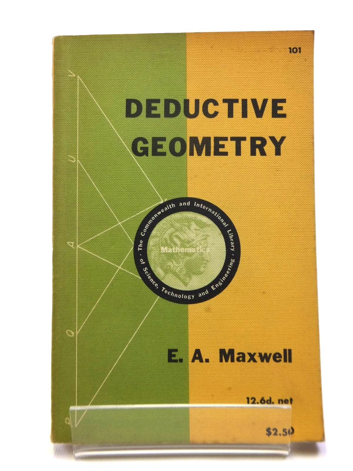 Photo of DEDUCTIVE GEOMETRY written by Maxwell, E.A. published by Pergamon Press (STOCK CODE: 1208398)  for sale by Stella & Rose's Books