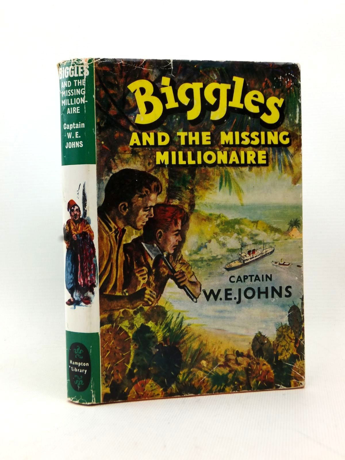 Photo of BIGGLES AND THE MISSING MILLIONAIRE written by Johns, W.E. published by Brockhampton Press (STOCK CODE: 1208673)  for sale by Stella & Rose's Books