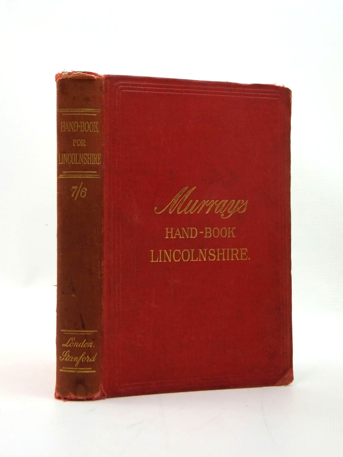 Photo of HANDBOOK FOR LINCOLNSHIRE published by Edward Stanford (STOCK CODE: 1208677)  for sale by Stella & Rose's Books