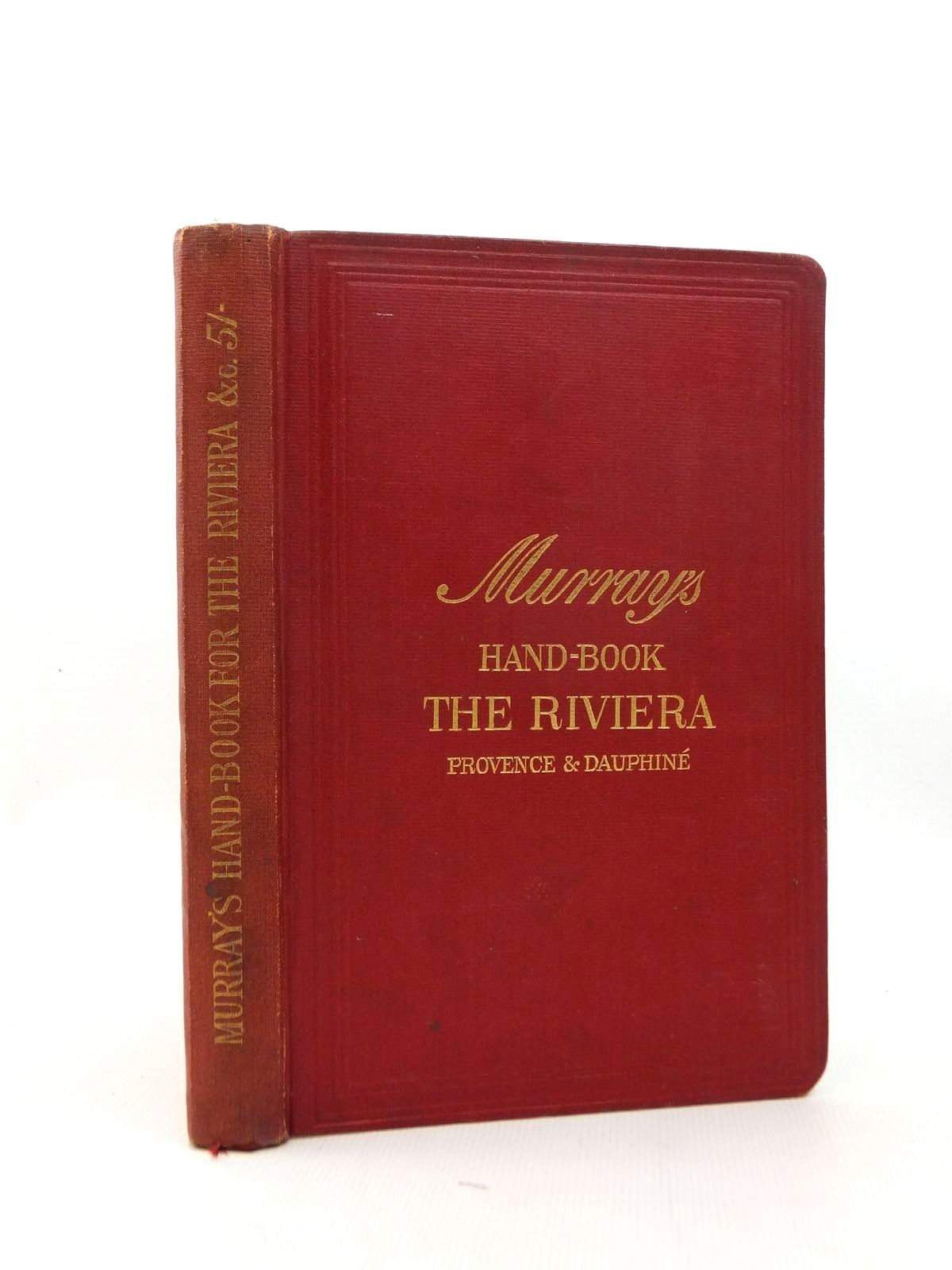 Photo of A HANDBOOK FOR TRAVELLERS ON THE RIVIERA published by John Murray (STOCK CODE: 1208696)  for sale by Stella & Rose's Books