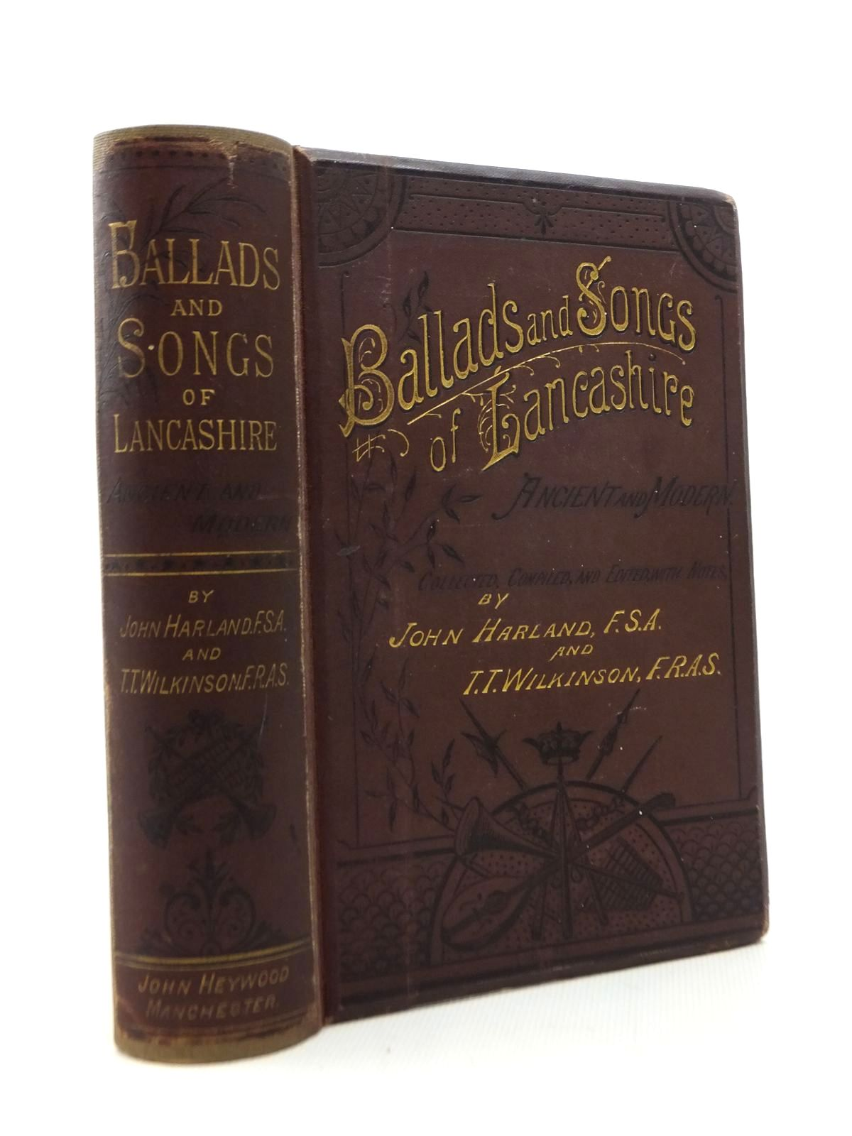 Photo of BALLADS AND SONGS OF LANCASHIRE written by Harland, John<br />Wilkinson, T.T. published by John Heywood (STOCK CODE: 1208754)  for sale by Stella & Rose's Books