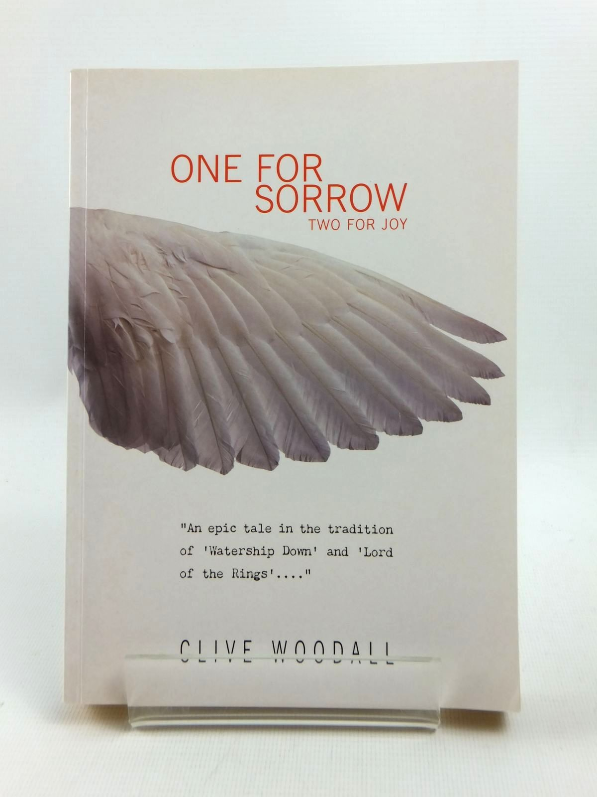 Photo of ONE FOR SORROW TWO FOR JOY written by Woodall, Clive published by Duckworth (STOCK CODE: 1208803)  for sale by Stella & Rose's Books