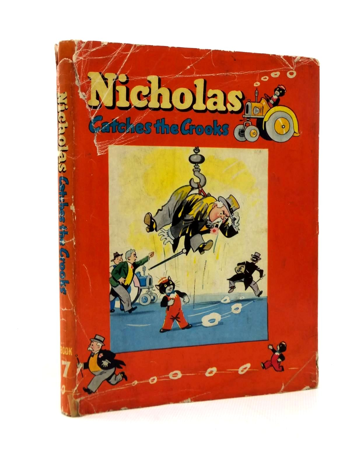 Photo of NICHOLAS CATCHES THE CROOKS written by Styles, Kitty illustrated by Lee, Mary Kendal published by Sampson Low, Marston & Co. Ltd. (STOCK CODE: 1208828)  for sale by Stella & Rose's Books