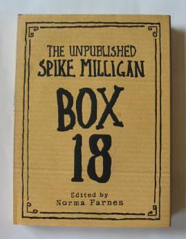 Photo of THE UNPUBLISHED SPIKE MILLIGAN BOX 18 written by Milligan, Spike<br />Farnes, Norma published by Ted Smart (STOCK CODE: 1301116)  for sale by Stella & Rose's Books