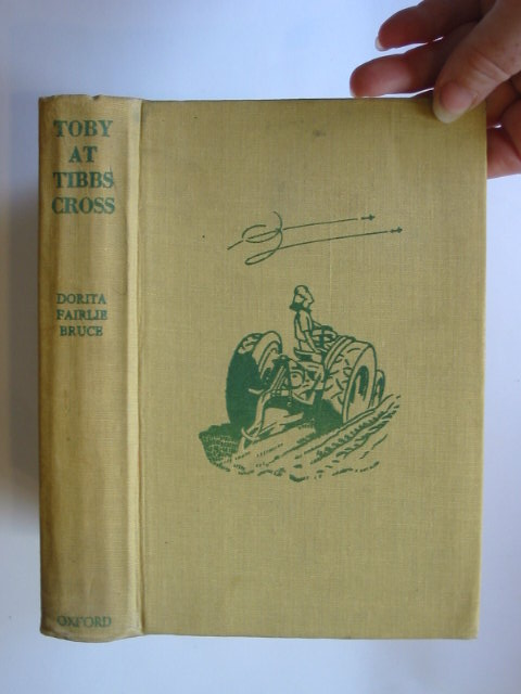 Photo of TOBY AT TIBBS CROSS written by Bruce, Dorita Fairlie illustrated by Horder, Margaret published by Oxford University Press, Humphrey Milford (STOCK CODE: 1302642)  for sale by Stella & Rose's Books