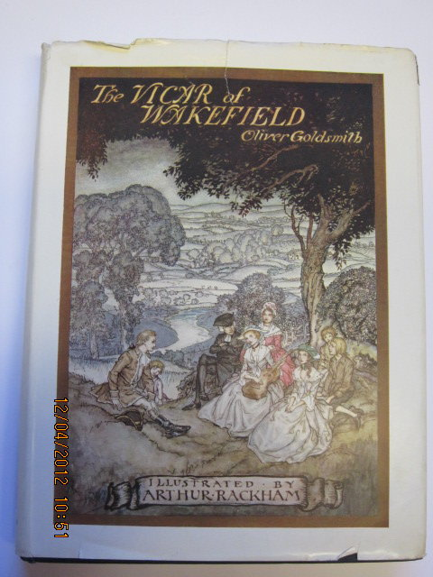 Photo of THE VICAR OF WAKEFIELD written by Goldsmith, Oliver illustrated by Rackham, Arthur published by George G. Harrap & Co. Ltd. (STOCK CODE: 1303332)  for sale by Stella & Rose's Books