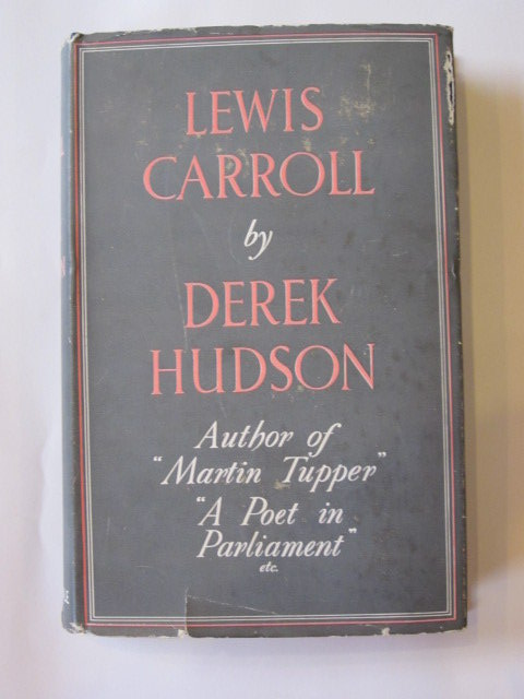 Photo of LEWIS CARROLL written by Carroll, Lewis<br />Hudson, Derek published by Constable & Co. Ltd. (STOCK CODE: 1303742)  for sale by Stella & Rose's Books