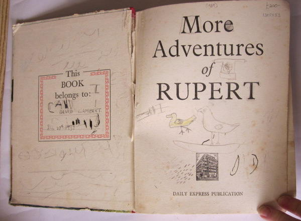 Photo of RUPERT ANNUAL 1937 - MORE ADVENTURES OF RUPERT written by Bestall, Alfred illustrated by Bestall, Alfred published by Daily Express (STOCK CODE: 1305553)  for sale by Stella & Rose's Books