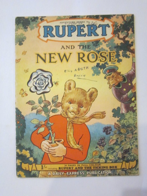 Photo of RUPERT ADVENTURE SERIES No. 9 - RUPERT AND THE NEW ROSE written by Bestall, Alfred illustrated by Bestall, Alfred published by Daily Express (STOCK CODE: 1306440)  for sale by Stella & Rose's Books