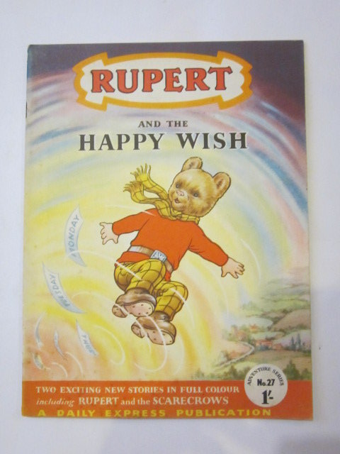 Photo of RUPERT ADVENTURE SERIES No. 27 - RUPERT AND THE HAPPY WISH written by Bestall, Alfred published by Daily Express (STOCK CODE: 1306445)  for sale by Stella & Rose's Books