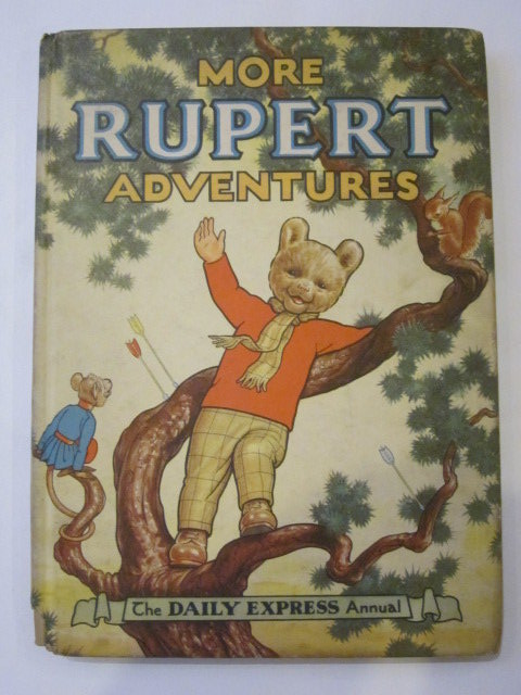 Photo of RUPERT ANNUAL 1952 - MORE RUPERT ADVENTURES written by Bestall, Alfred illustrated by Bestall, Alfred published by Daily Express (STOCK CODE: 1306454)  for sale by Stella & Rose's Books