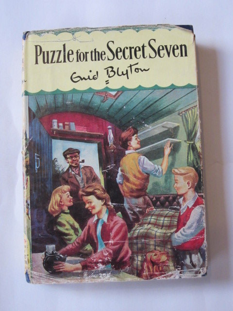 Photo of PUZZLE FOR THE SECRET SEVEN written by Blyton, Enid illustrated by Sharrocks, Burgess published by Brockhampton Press (STOCK CODE: 1306741)  for sale by Stella & Rose's Books