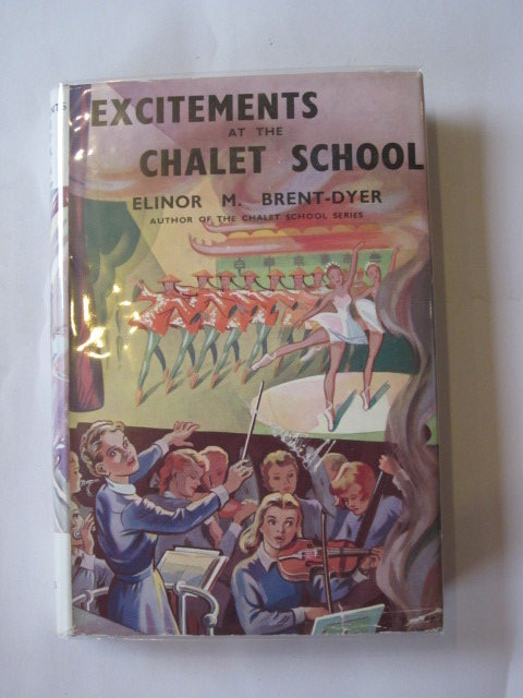 Photo of EXCITEMENTS AT THE CHALET SCHOOL- Stock Number: 1307053