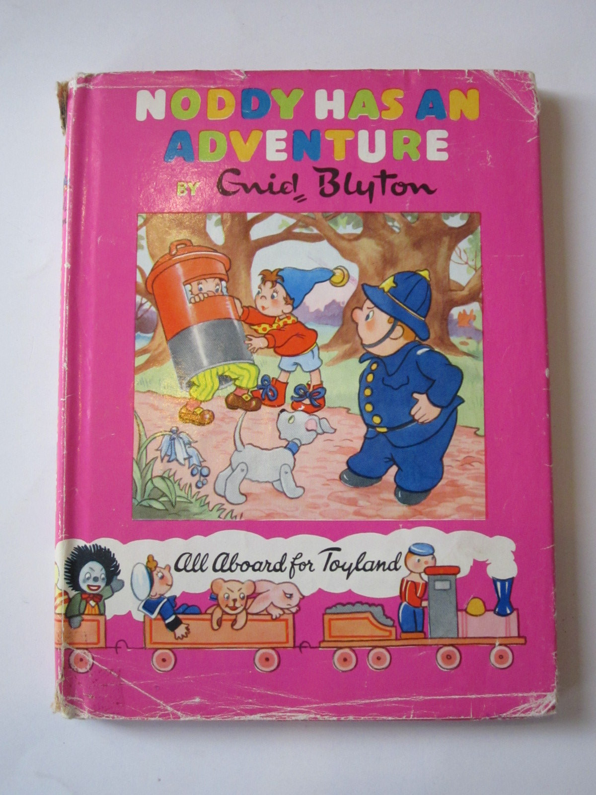 Photo of NODDY HAS AN ADVENTURE written by Blyton, Enid illustrated by Wienk, Peter<br />Tyndall, Robert published by Sampson Low, Marston & Co. Ltd., The Richards Press Ltd. (STOCK CODE: 1307639)  for sale by Stella & Rose's Books