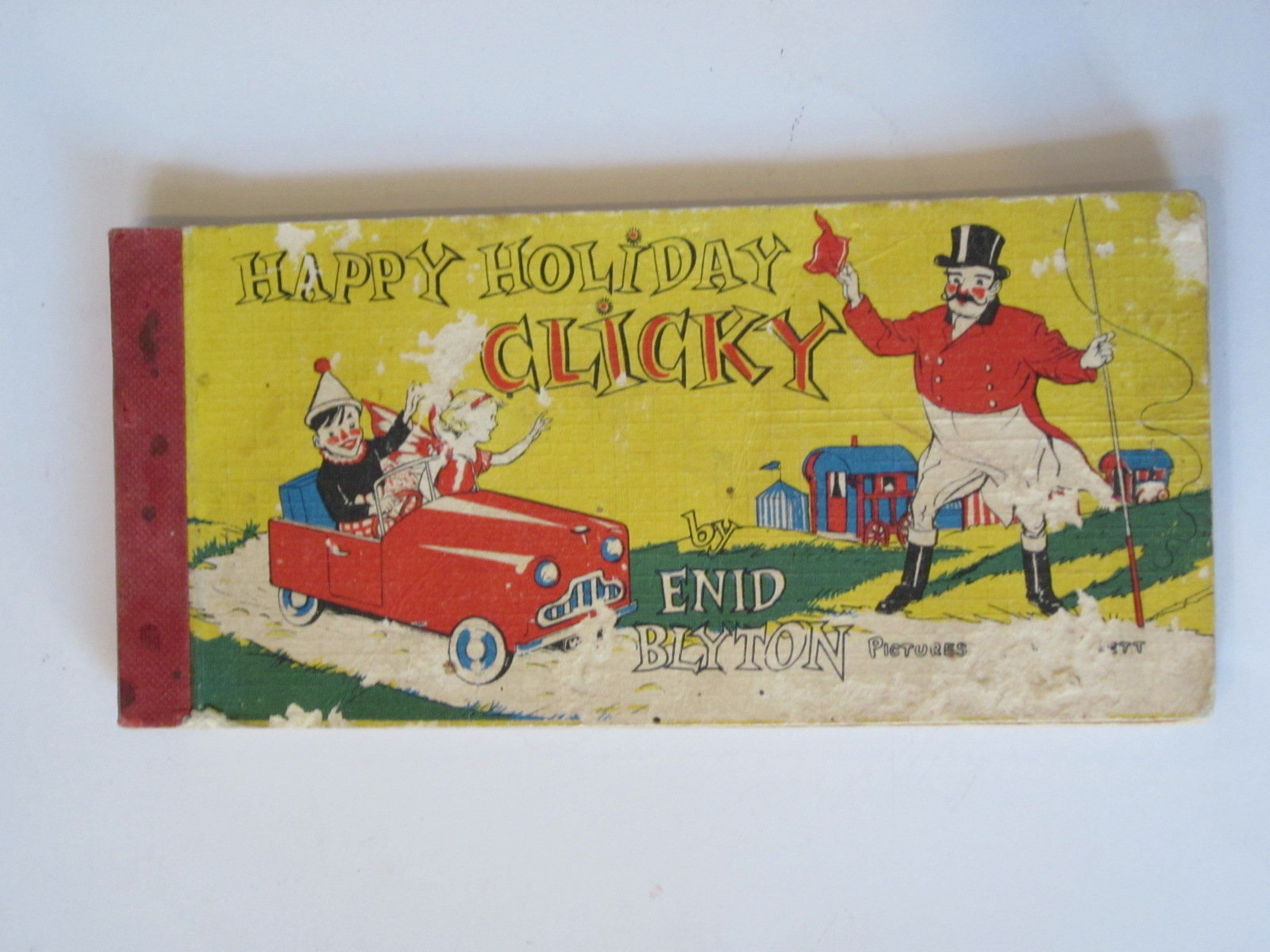Photo of HAPPY HOLIDAY CLICKY written by Blyton, Enid illustrated by Brett, Molly published by Brockhampton Press (STOCK CODE: 1307900)  for sale by Stella & Rose's Books