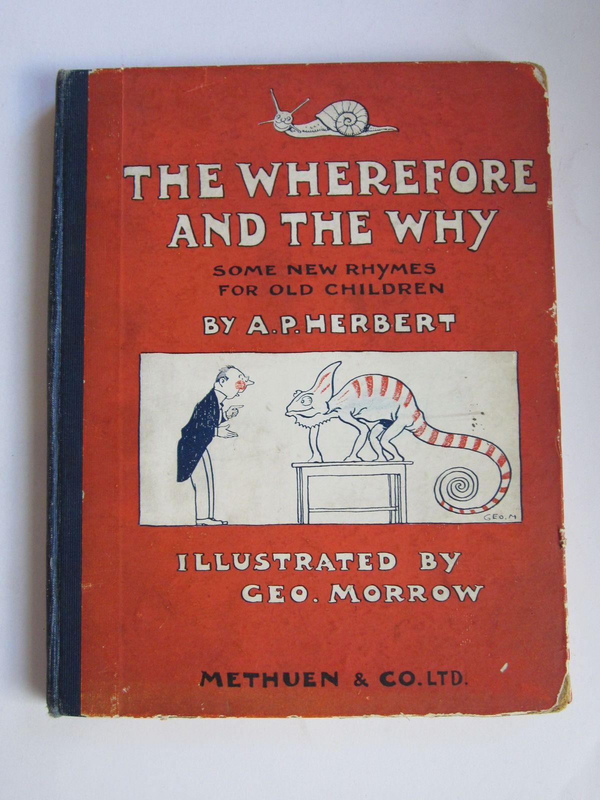 Photo of THE WHEREFORE AND THE WHY written by Herbert, A.P. illustrated by Morrow, George published by Methuen & Co. Ltd. (STOCK CODE: 1308800)  for sale by Stella & Rose's Books