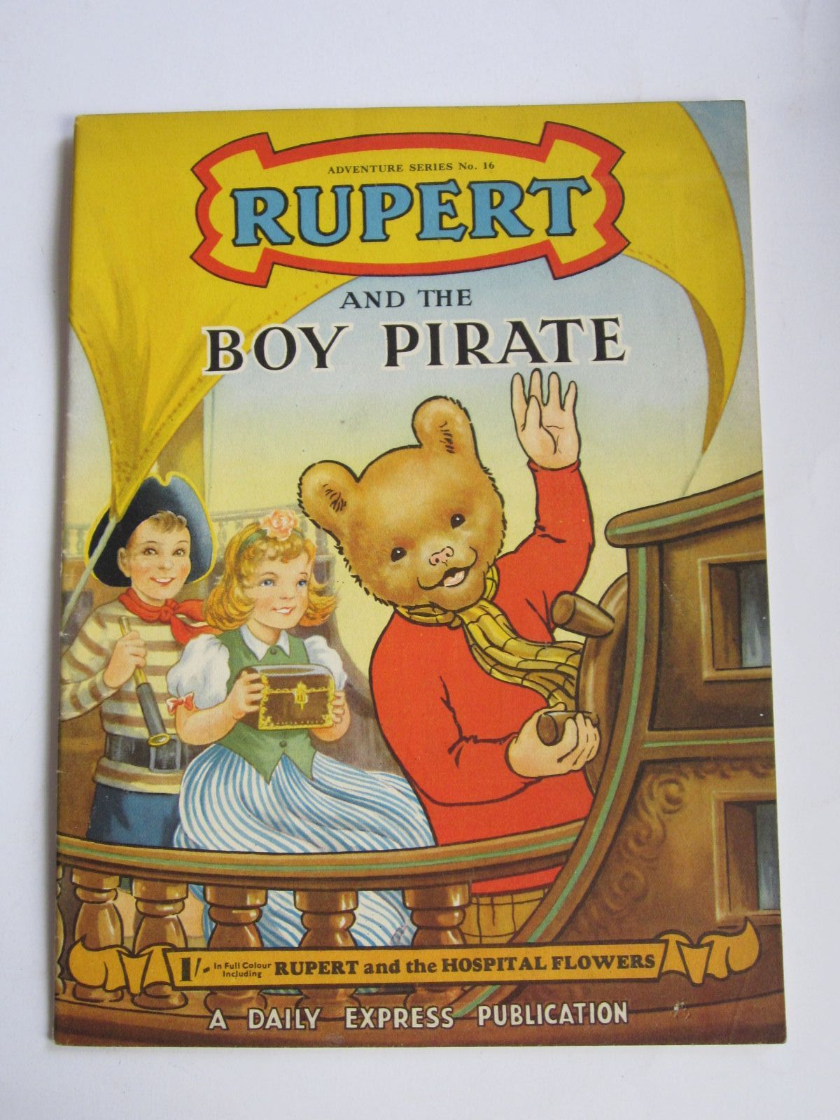 Photo of RUPERT ADVENTURE SERIES No. 16 - RUPERT AND THE BOY PIRATE written by Bestall, Alfred published by Daily Express (STOCK CODE: 1309071)  for sale by Stella & Rose's Books