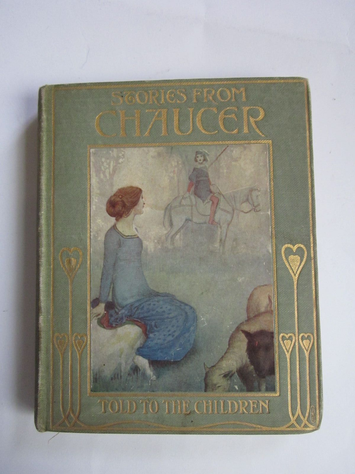 Photo of STORIES FROM CHAUCER written by Chaucer, Geoffrey<br />Kelman, Janet Harvey illustrated by Robinson, W. Heath published by T.C. & E.C. Jack (STOCK CODE: 1309216)  for sale by Stella & Rose's Books