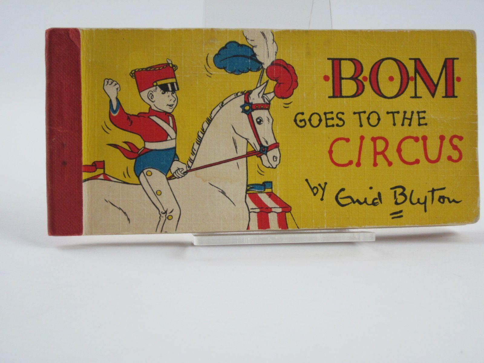 Photo of BOM GOES TO THE CIRCUS written by Blyton, Enid illustrated by Paul-Hoye, R. published by Brockhampton Press (STOCK CODE: 1309597)  for sale by Stella & Rose's Books
