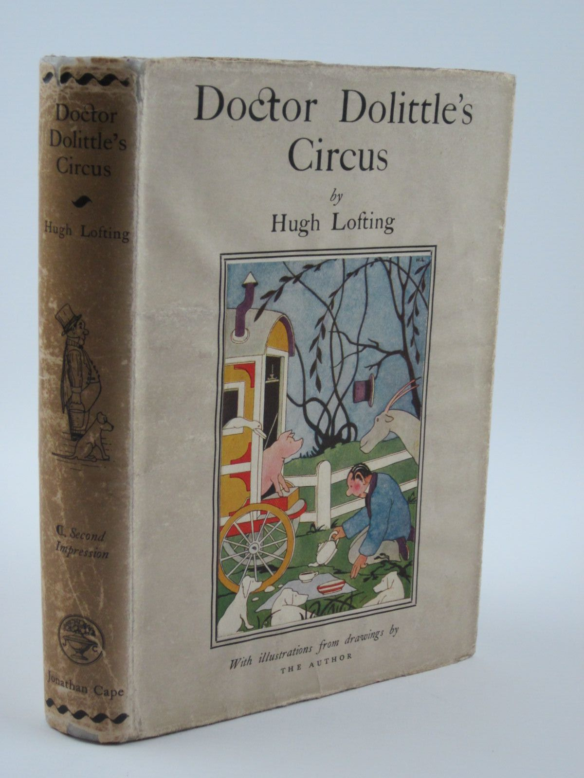 Photo of DOCTOR DOLITTLE'S CIRCUS written by Lofting, Hugh illustrated by Lofting, Hugh published by Jonathan Cape (STOCK CODE: 1309599)  for sale by Stella & Rose's Books