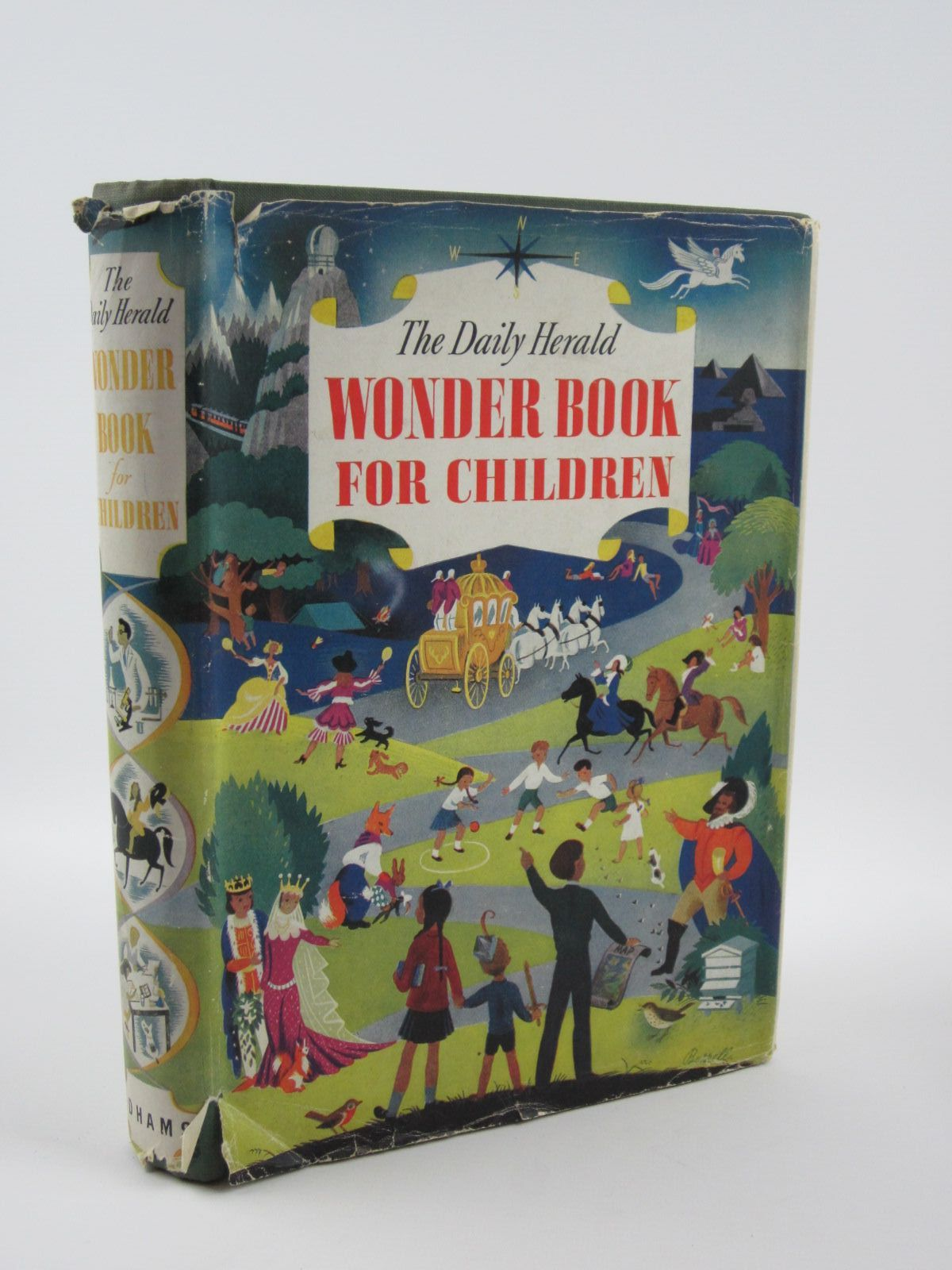 Photo of THE WONDER BOOK FOR CHILDREN written by Blyton, Enid<br />Saville, Malcolm<br />Brisley, Joyce Lankester<br />et al,  illustrated by Rountree, Harry<br />Soper, Eileen<br />Baynes, Pauline<br />et al.,  published by Odhams Press Limited (STOCK CODE: 1309604)  for sale by Stella & Rose's Books