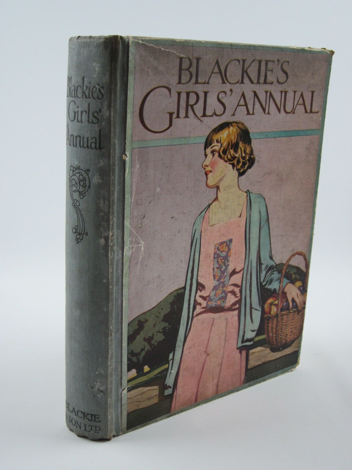 Photo of BLACKIE'S GIRLS' ANNUAL written by Harrison, Florence<br />Westwood, J.D.<br />Brazil, Angela<br />et al,  illustrated by Harrison, Florence<br />Reynolds, Warwick<br />et al.,  published by Blackie & Son Ltd. (STOCK CODE: 1309677)  for sale by Stella & Rose's Books