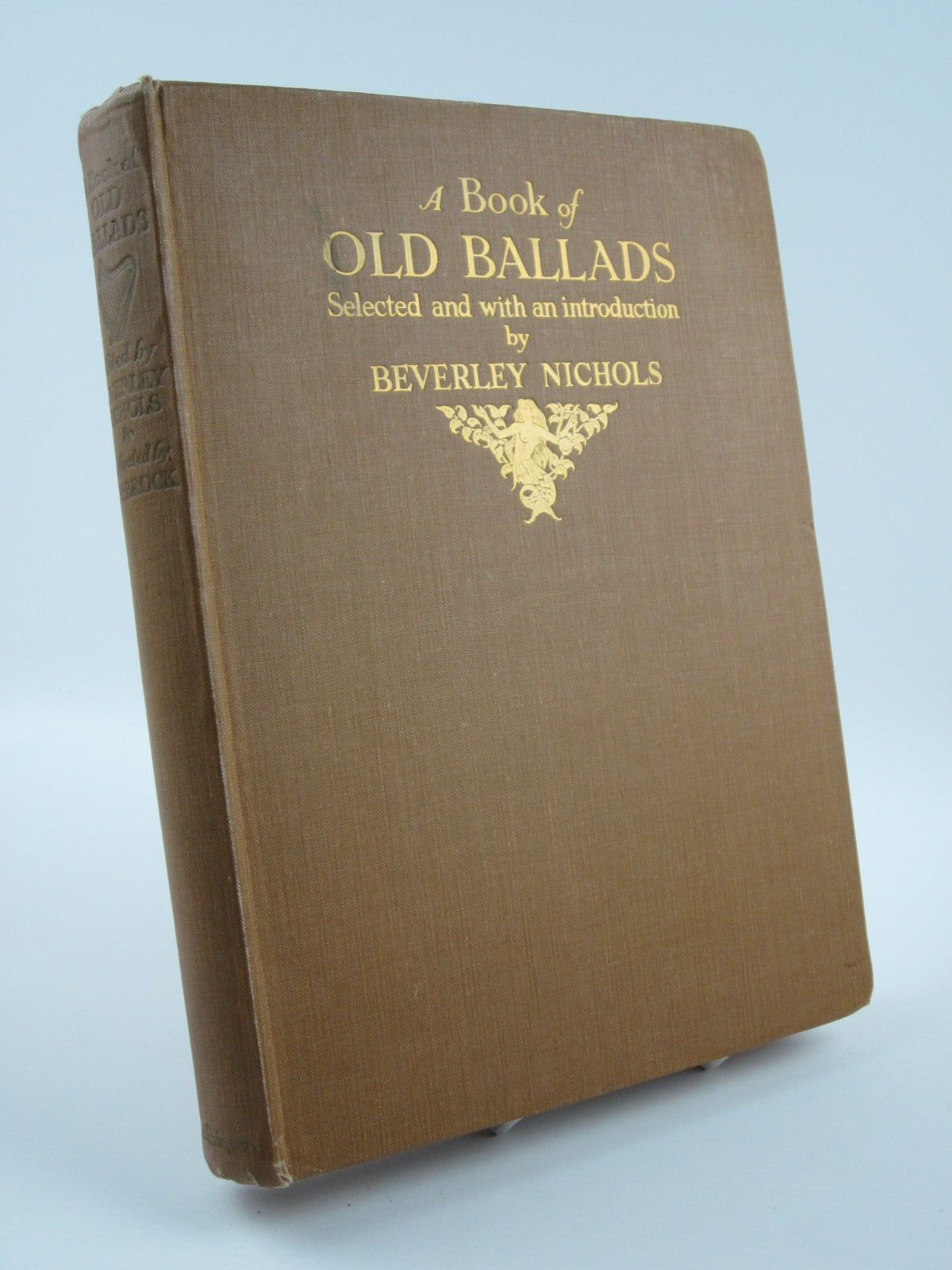Photo of A BOOK OF OLD BALLADS written by Nichols, Beverley illustrated by Brock, H.M. published by Hutchinson & Co. Ltd (STOCK CODE: 1309709)  for sale by Stella & Rose's Books