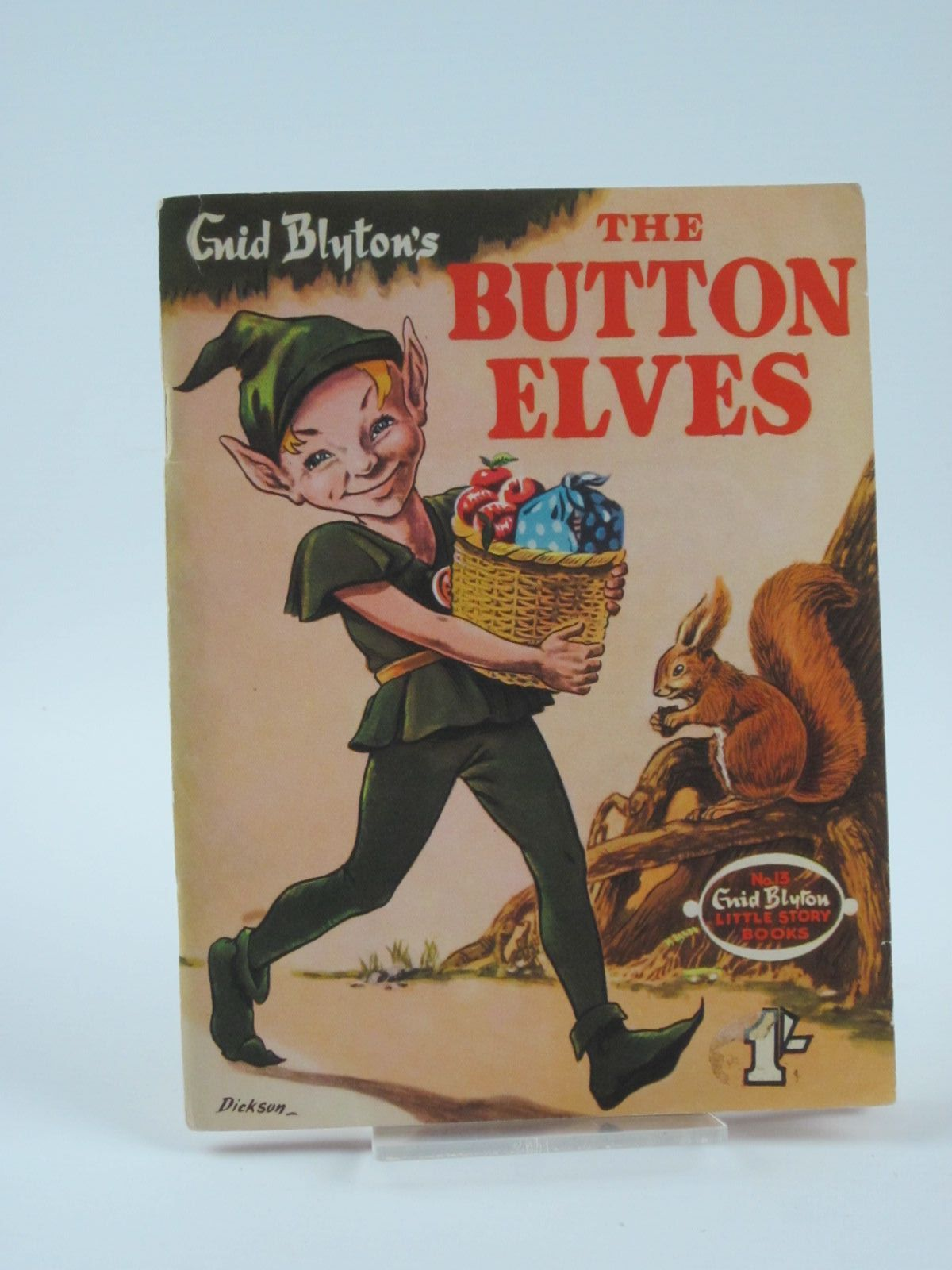 Photo of THE BUTTON ELVES written by Blyton, Enid published by W. & A.K. Johnston & G.W. Bacon Ltd. (STOCK CODE: 1309730)  for sale by Stella & Rose's Books