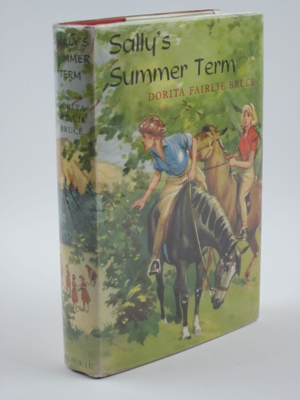 Photo of SALLY'S SUMMER TERM written by Bruce, Dorita Fairlie illustrated by Thompson, Joan published by Blackie (STOCK CODE: 1309769)  for sale by Stella & Rose's Books