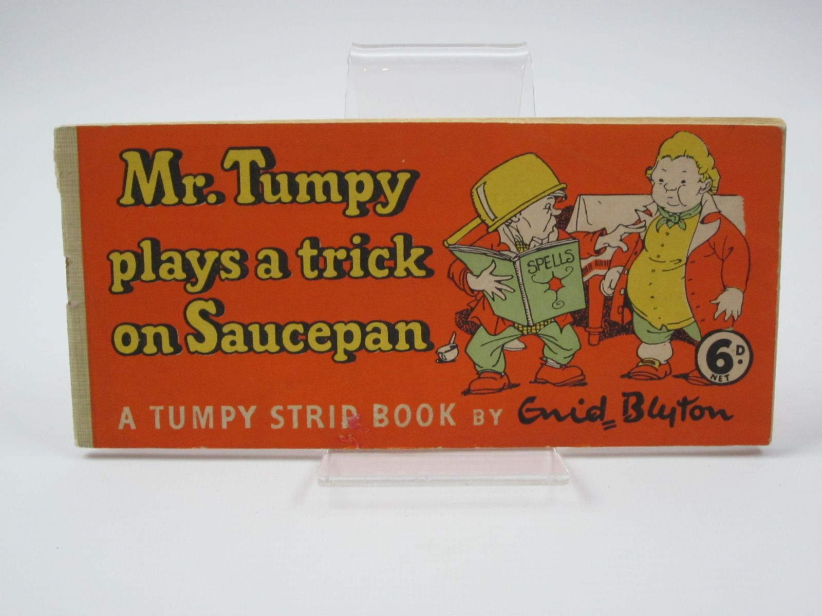 Photo of MR. TUMPY PLAYS A TRICK ON SAUCEPAN written by Blyton, Enid illustrated by Wheeler, Dorothy M. published by Sampson Low (STOCK CODE: 1309817)  for sale by Stella & Rose's Books