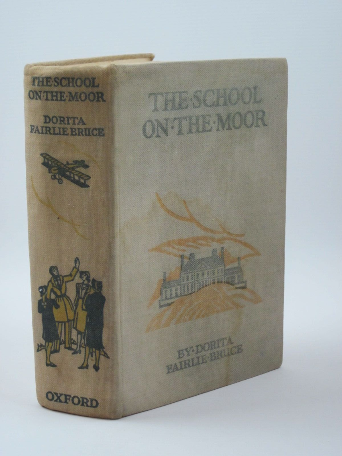 Photo of THE SCHOOL ON THE MOOR written by Bruce, Dorita Fairlie illustrated by Reeve, Mary Strange published by Oxford University Press, Humphrey Milford (STOCK CODE: 1309926)  for sale by Stella & Rose's Books