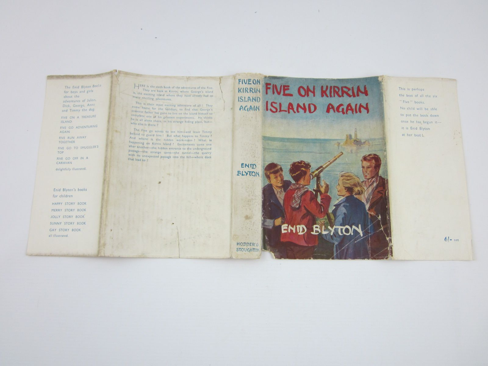 Photo of FIVE ON KIRRIN ISLAND AGAIN written by Blyton, Enid illustrated by Soper, Eileen published by Hodder & Stoughton (STOCK CODE: 1310128)  for sale by Stella & Rose's Books