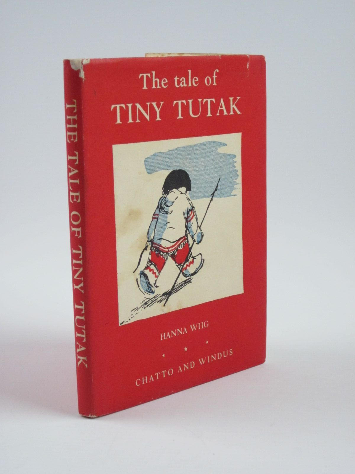 Photo of THE TALE OF TINY TUTAK written by Wiig, Hanna illustrated by Skauge, Sven published by Chatto & Windus (STOCK CODE: 1310148)  for sale by Stella & Rose's Books
