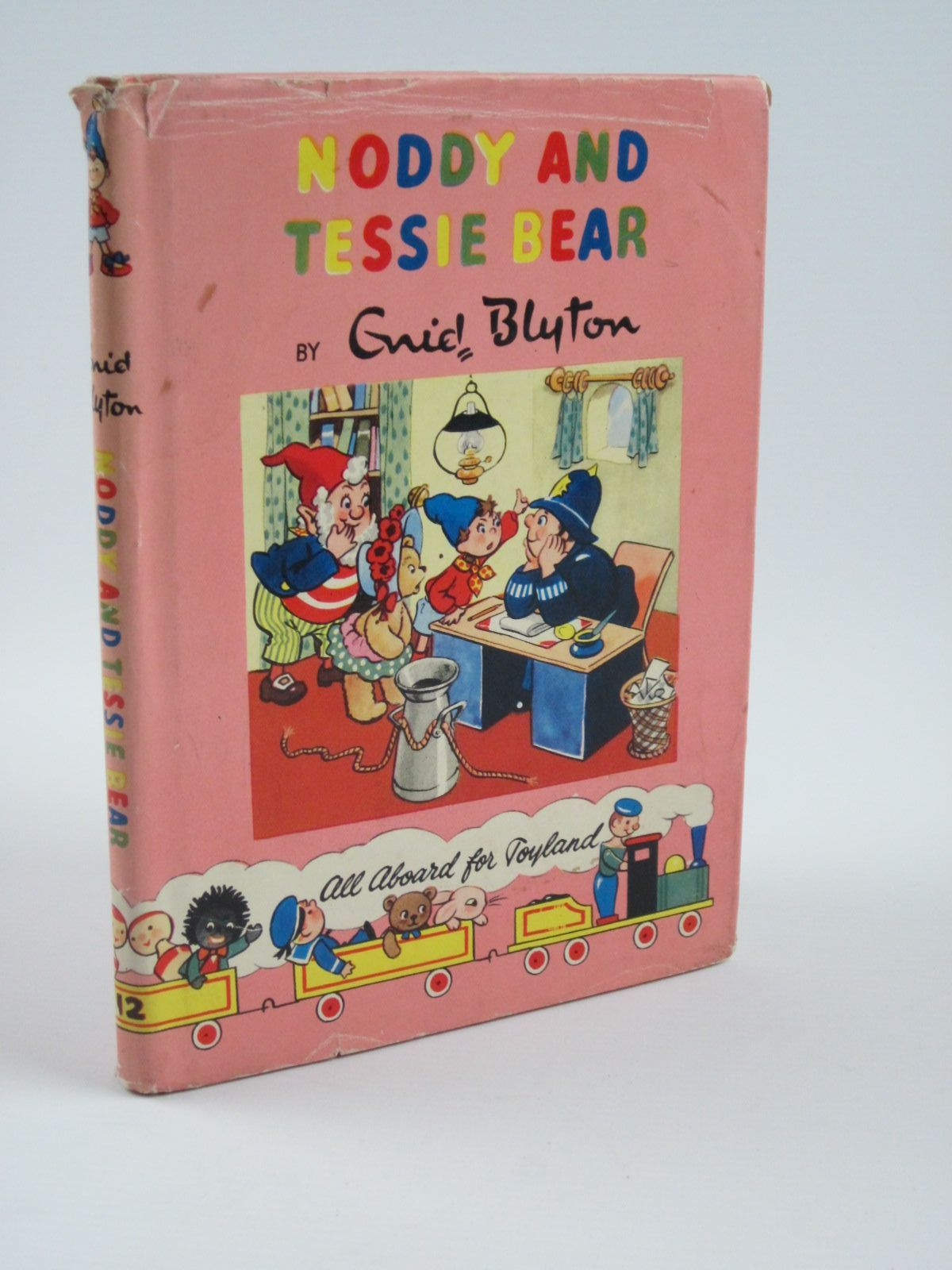 Photo of NODDY AND TESSIE BEAR written by Blyton, Enid illustrated by Lee, Robert published by Sampson Low, Marston & Co. Ltd., Dennis Dobson Ltd. (STOCK CODE: 1310153)  for sale by Stella & Rose's Books