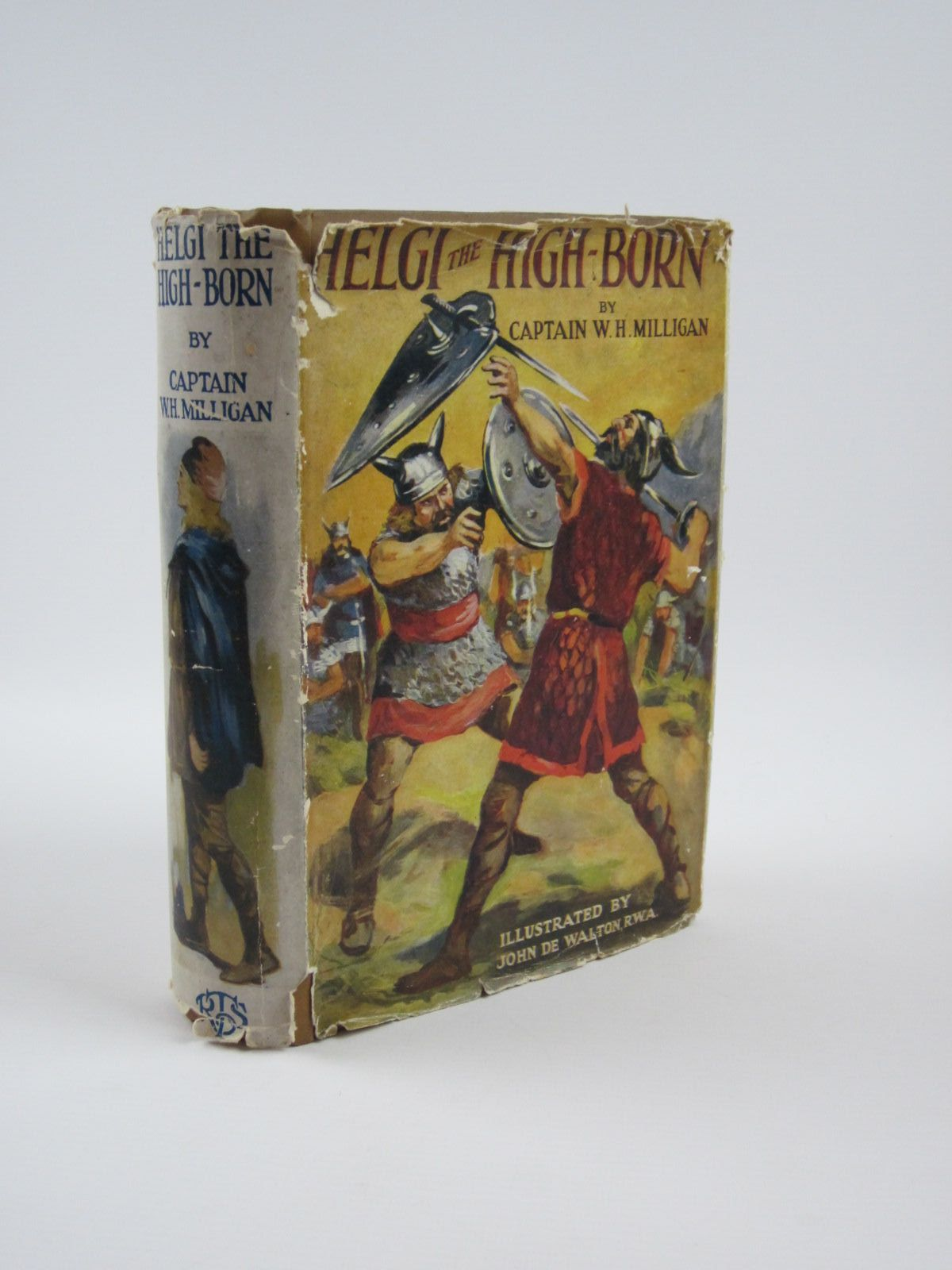 Photo of HELGI THE HIGH-BORN written by Milligan, Captain W.H. illustrated by De Walton, John published by The Boy's Own Paper (STOCK CODE: 1310178)  for sale by Stella & Rose's Books
