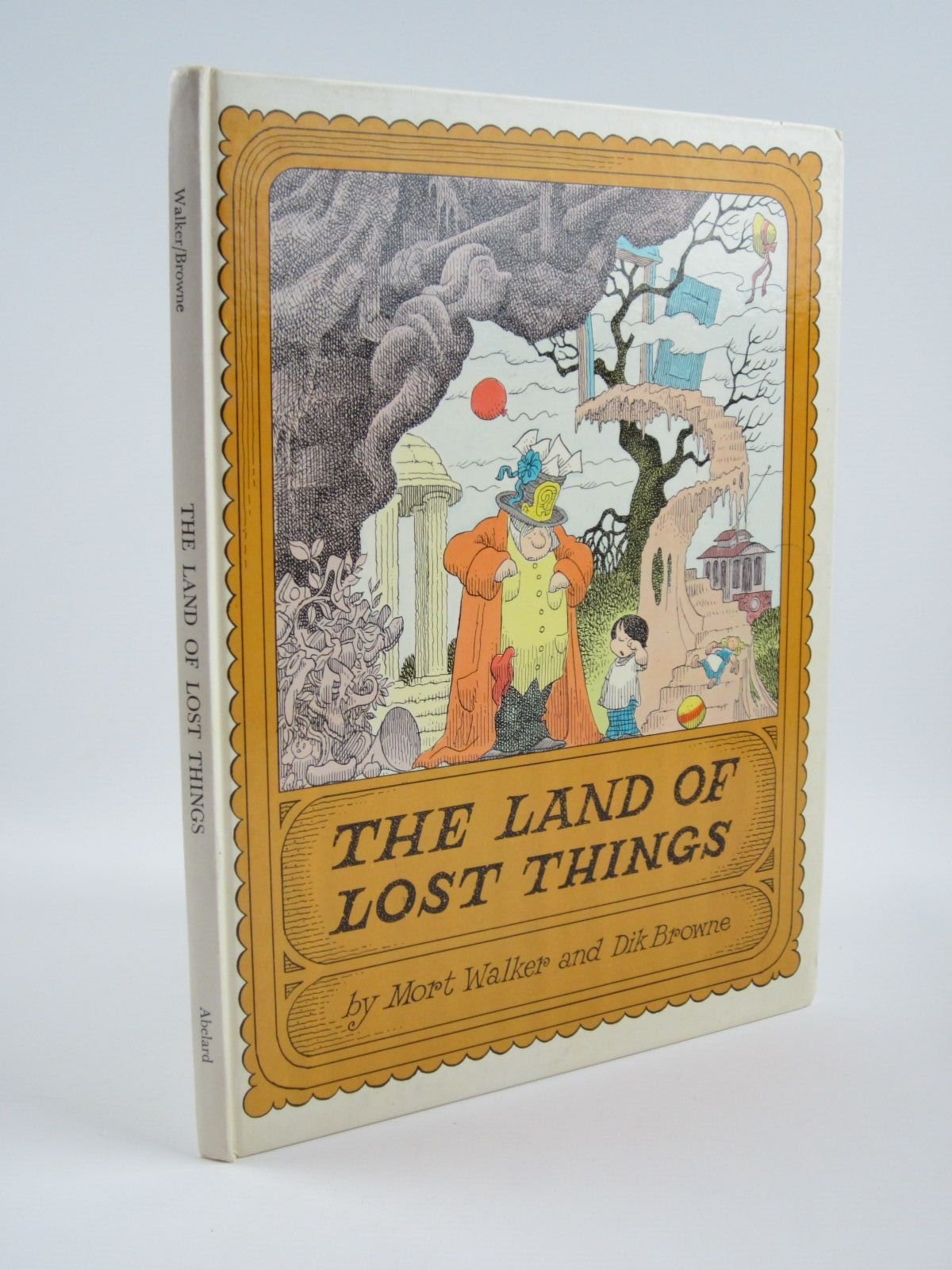 Photo of THE LAND OF LOST THINGS written by Walker, Mort illustrated by Browne, Dik published by Abelard-Schuman (STOCK CODE: 1310195)  for sale by Stella & Rose's Books