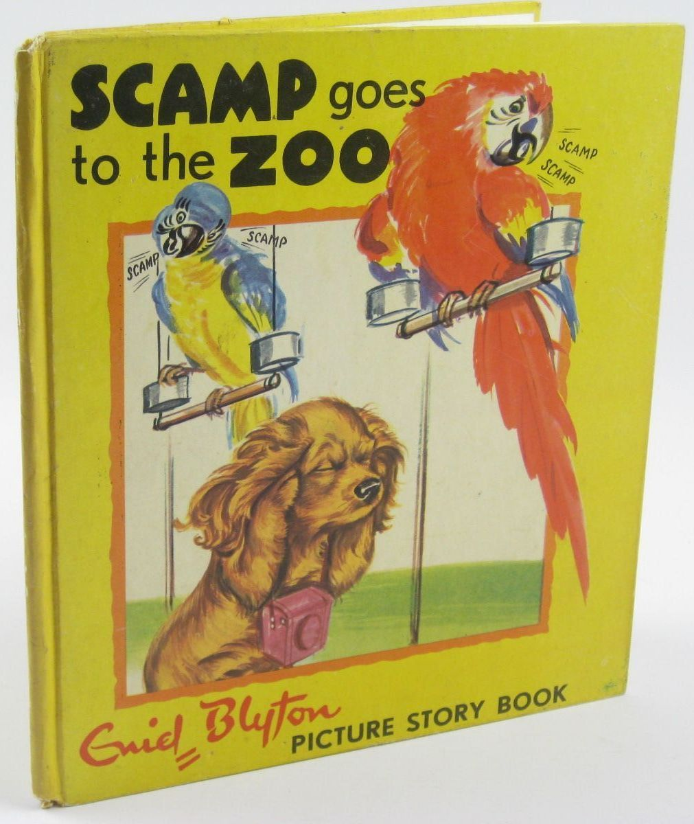 Photo of SCAMP GOES TO THE ZOO written by Blyton, Enid illustrated by Probst, Pierre published by Sandle's (STOCK CODE: 1310261)  for sale by Stella & Rose's Books