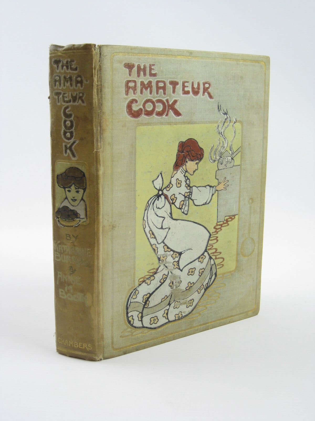 Photo of THE AMATEUR COOK written by Burrill, Katharine<br />Booth, Annie M. illustrated by Attwell, Mabel Lucie published by W. & R. Chambers Limited (STOCK CODE: 1310466)  for sale by Stella & Rose's Books