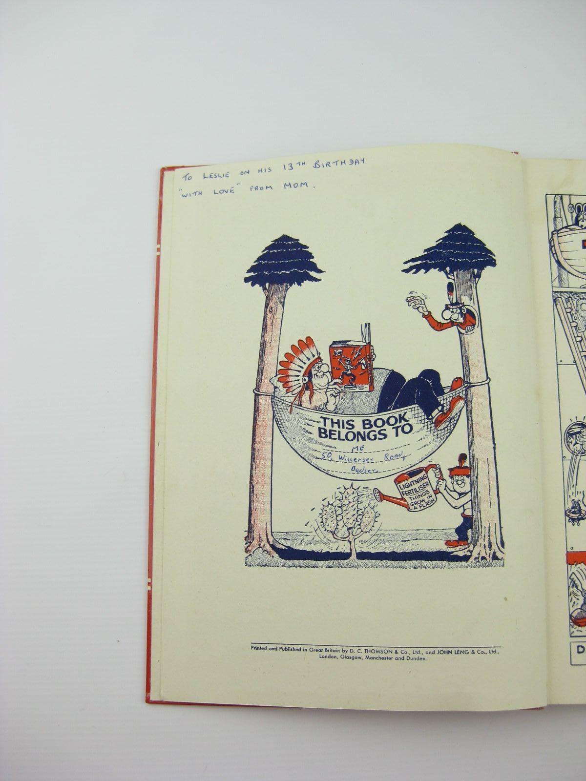 Book 1961 Photo of The Beano Book 1961