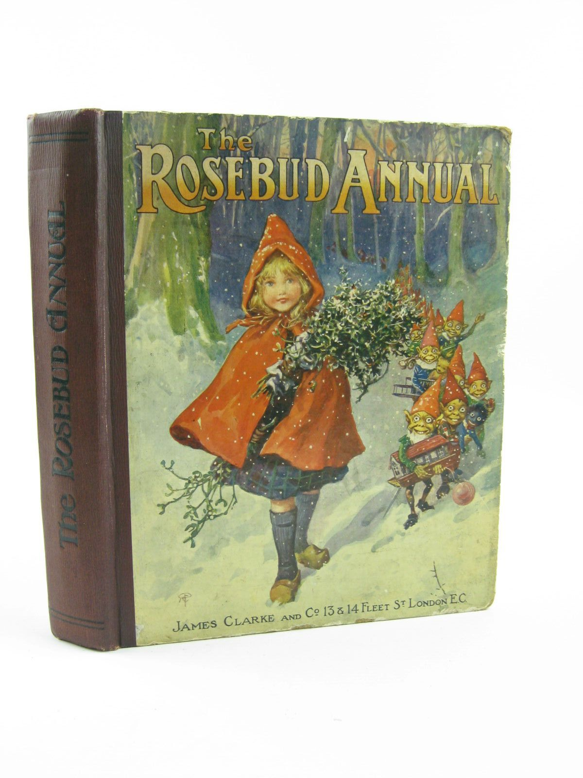 Photo of THE ROSEBUD ANNUAL 1916 written by Blomfield, Elsie<br />Talbot, Ethel<br />et al,  illustrated by Wain, Louis<br />Buchanan, N.<br />et al.,  published by James Clarke & Co. (STOCK CODE: 1310493)  for sale by Stella & Rose's Books